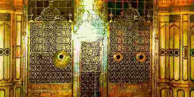 Adab Masuk Masjid Nabawi